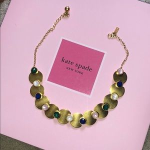 Kate Spade Gold and Multi-Colored Necklace